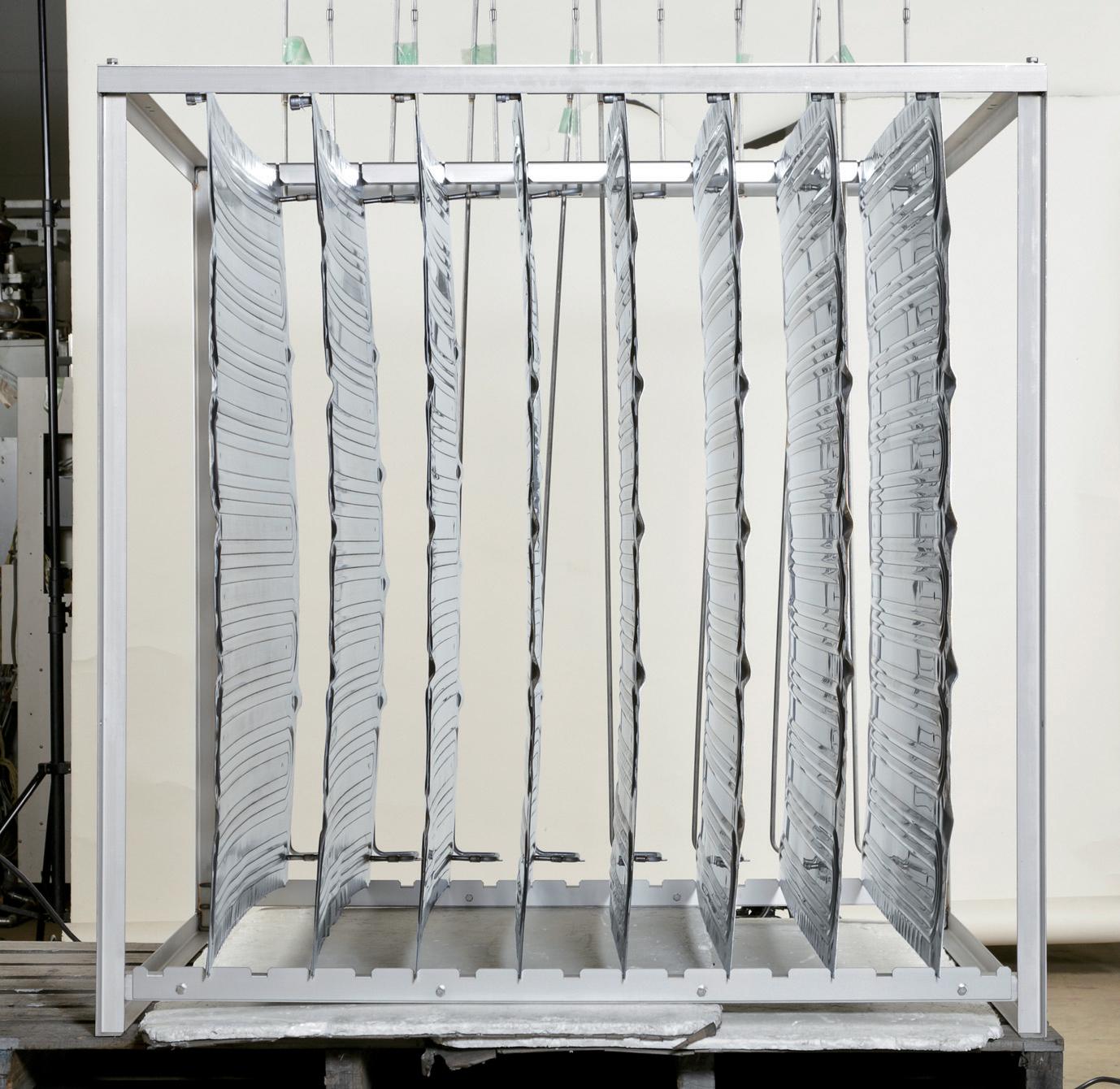 開放型プレート式熱交換器の採用